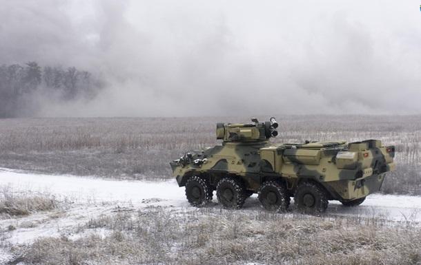 В Україні виготовили корпус для БТР зі сталі НАТО
