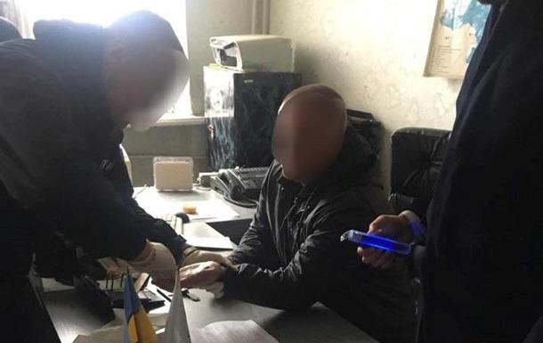 В Полтаве задержан чиновник на взятке в $20 тысяч