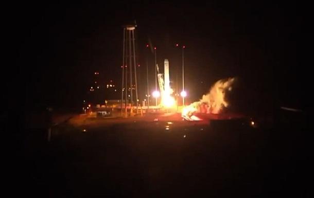 В США запустили ракету Antares с грузом