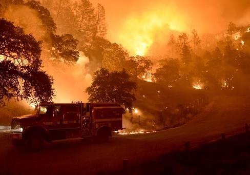 Пожар в Калифорнии и стратегическое партнерство: итоги недели