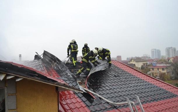 Під Одесою сталася пожежа в готелі