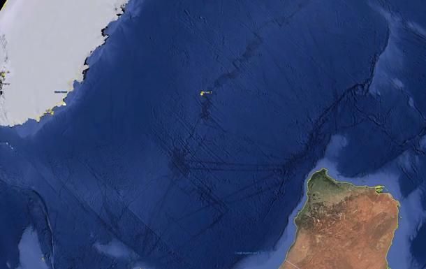 Знайдено таємничі  тунелі  з Антарктиди