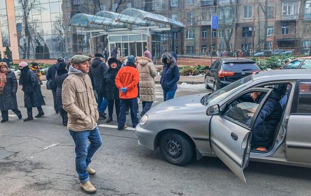 Мітинг в Києві: рух транспорту розблоковано