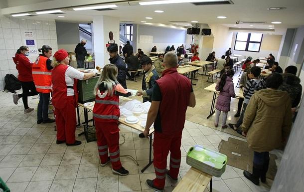 На границе ЕС замерзают тысячи мигрантов