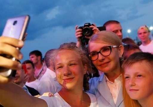 Поддерживают ли украинцы Новый Курс Юлии Тимошенко. Видеосоцопросы
