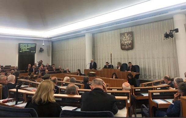 Сенат Польши принял постановление к годовщине Голодомора