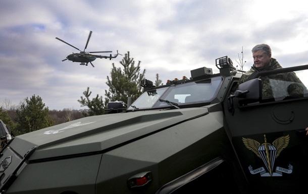 На Донбасі загинули 487 десантників - Порошенко