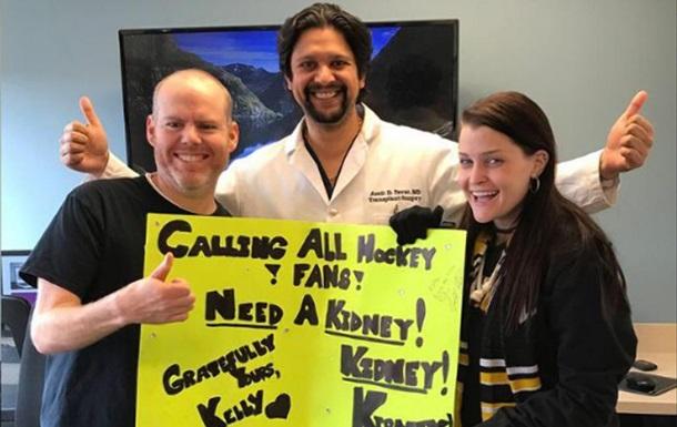 Уболівальниця знайшла донора нирки на хокейному матчі