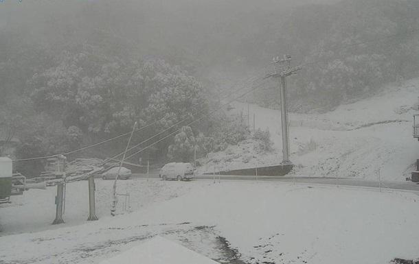 В Австралии перед началом лета выпал снег