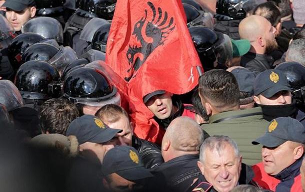 Акції протесту в Албанії: 15 постраждалих