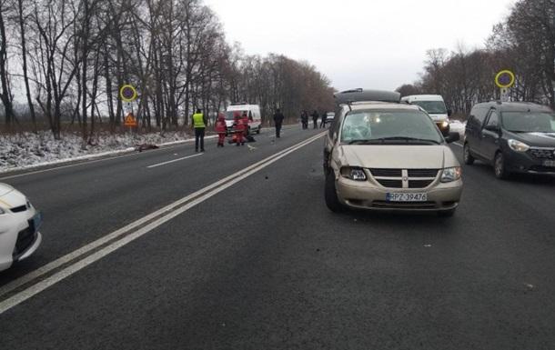 У ДТП під Вінницею загинула велосипедистка