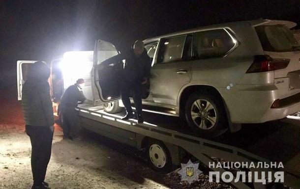 В Харьковской области задержали угонщиков элитных автомобилей