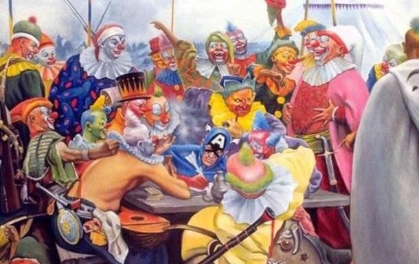 Депутаты ВР кто Вы ? ЕвроНатовские холуи или клоуны ?