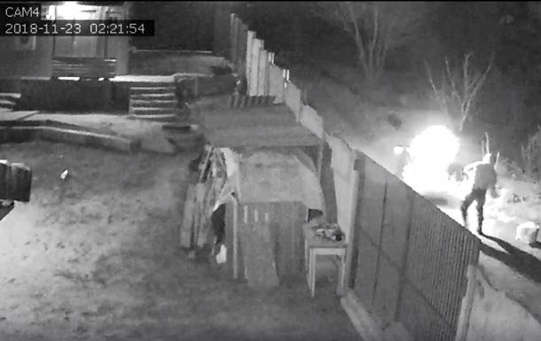 В Харькове подожгли дом соратника экс-командира Восточного корпуса