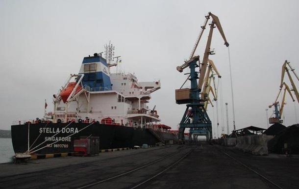 В Украину прибыло судно с углем для Криворожской ТЭС
