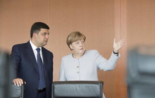 У Німеччині анонсували переговори Меркель з Гройсманом