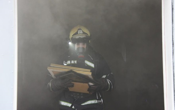 У Вінниці сталася пожежа в каплиці