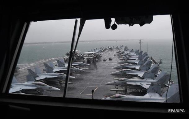 США задіють авіаносець на навчаннях у Середземномор ї