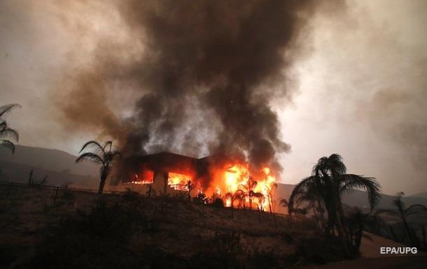 Лісова пожежа в Каліфорнії локалізована на 95%