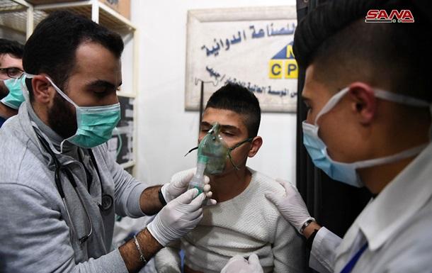 Алеппо обстреляли снарядами с хлором