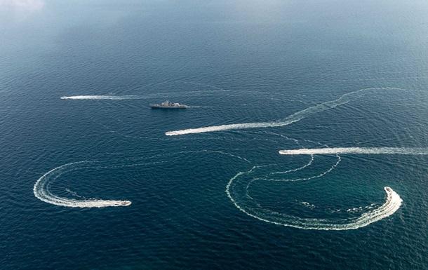 Конфлікт на Азовському морі онлайн