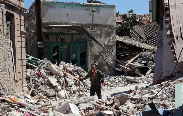 Землетрус на кордоні Ірану та Іраку: 500 постраждалих