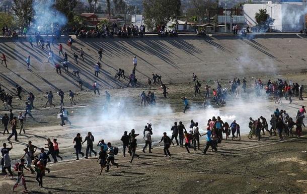 Мексика вишле з країни мігрантів, які штурмували кордон США