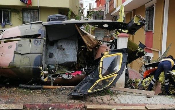 У Туреччині розбився військовий вертоліт, четверо загиблих