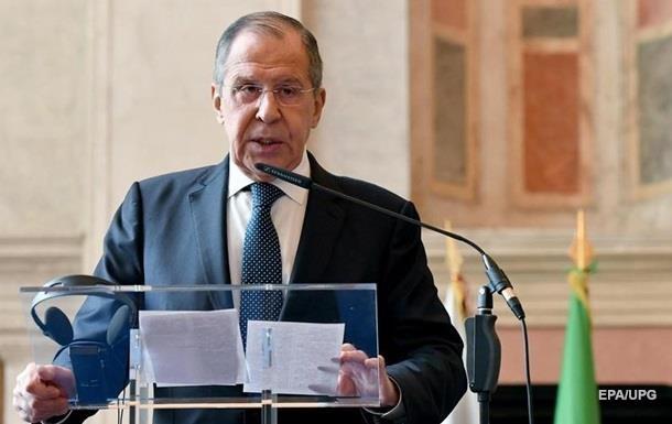 Лавров про події на Азові: Однозначно провокація