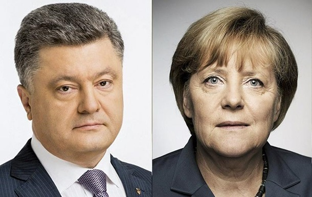Порошенко і Меркель обговорили ескалацію в Чорному морі