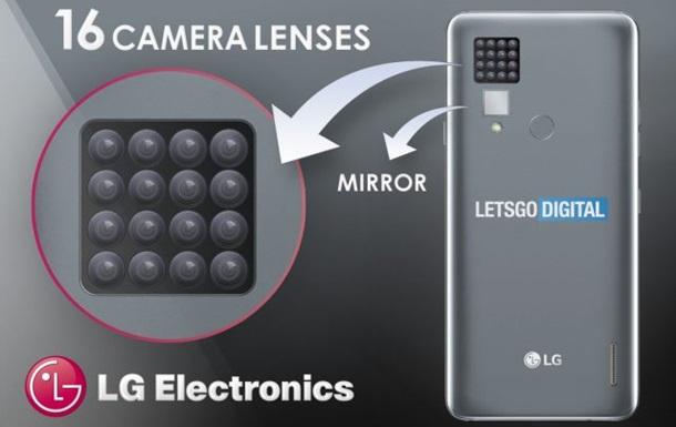В сети показали смартфон с 16 камерами