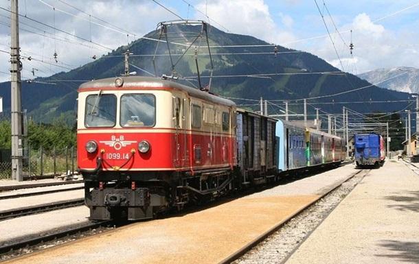 В Австрии остановились все поезда