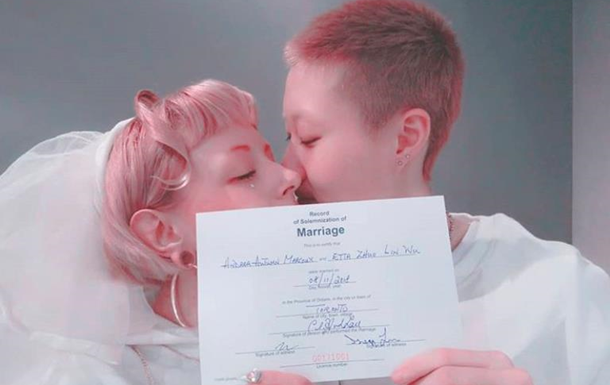 Дочь Джеки Чана вступила в брак с женщиной