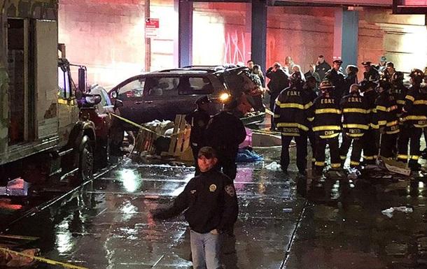 У Нью-Йорку автомобіль наїхав на пішоходів