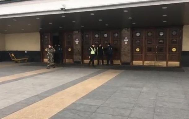 В Киеве эвакуировали железнодорожный вокзал