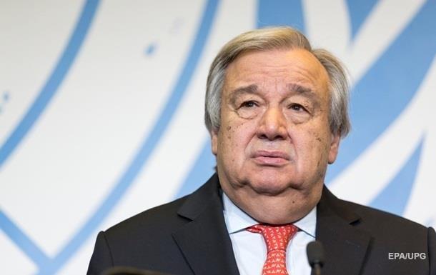 Генсек ООН отреагировал на конфликт в Черном море