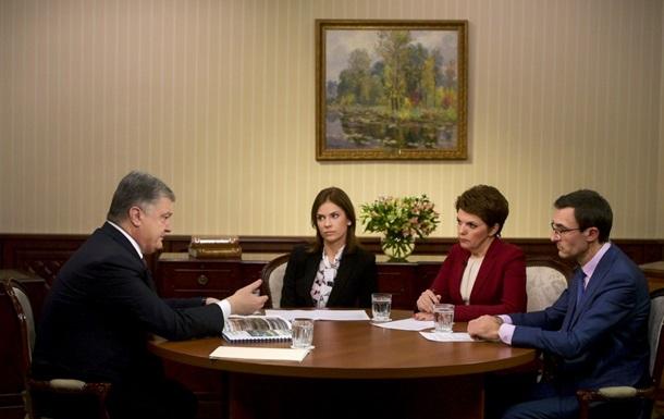 Порошенко пояснив рішення про воєнний стан