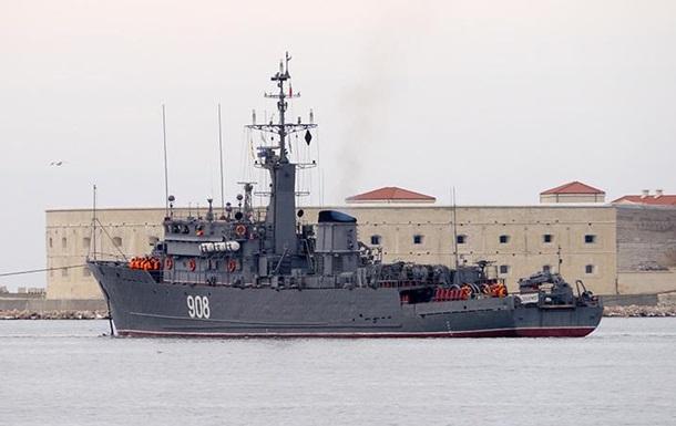ЗМІ: РФ скерувала бойовий корабель в Азовське море