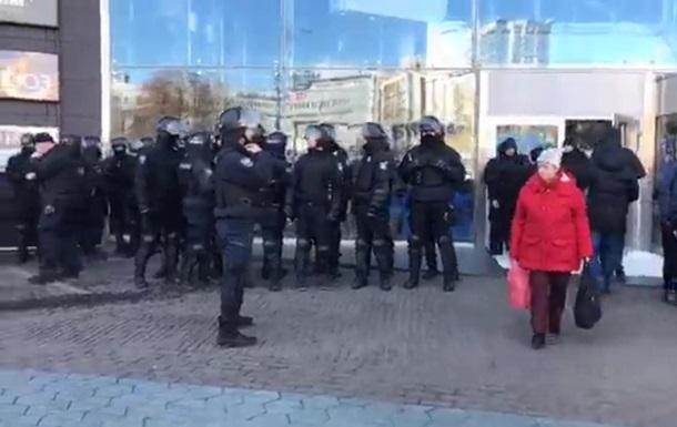 Протест в ТРЦ Ocean Plaza: є затримані