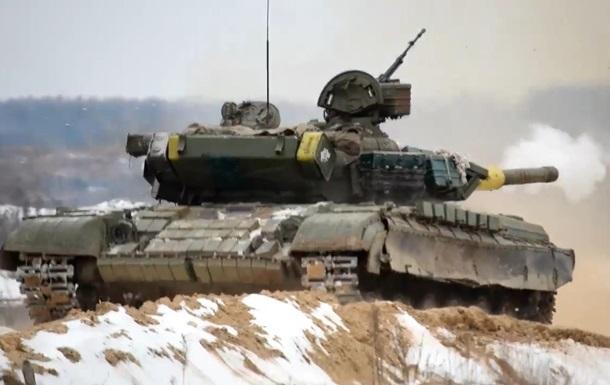 У Житомирській області відбулися танкові стрільби