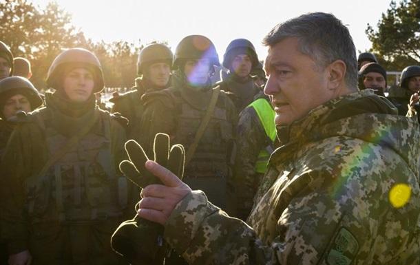 Президент не может без ВР продлить военное положение - Порошенко