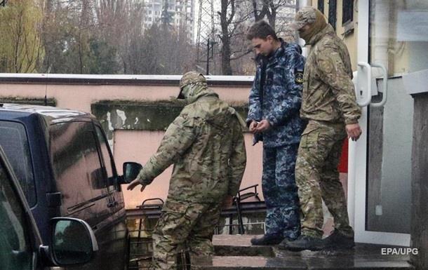 В Крыму  суд  арестовал всех захваченных моряков