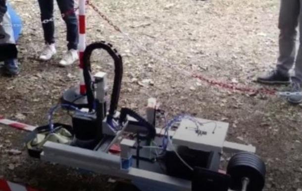 Украинцы и американцы создали робота-сапера