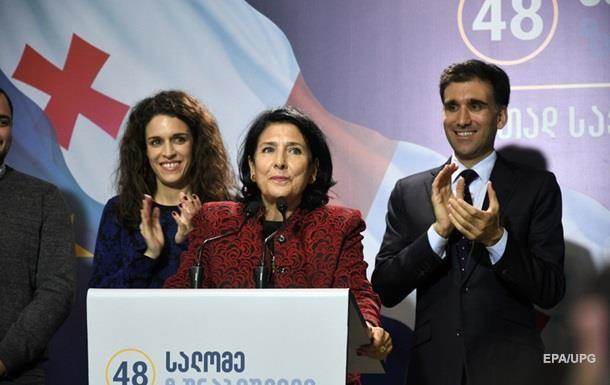 Вибори в Грузії: Порошенко привітав Зурабішвілі