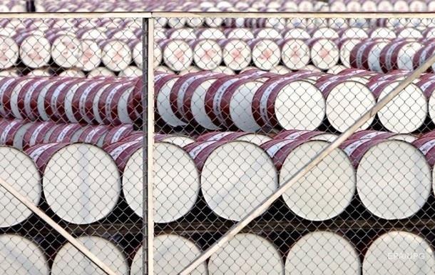 Цена нефти опустилась до 58 долларов за баррель