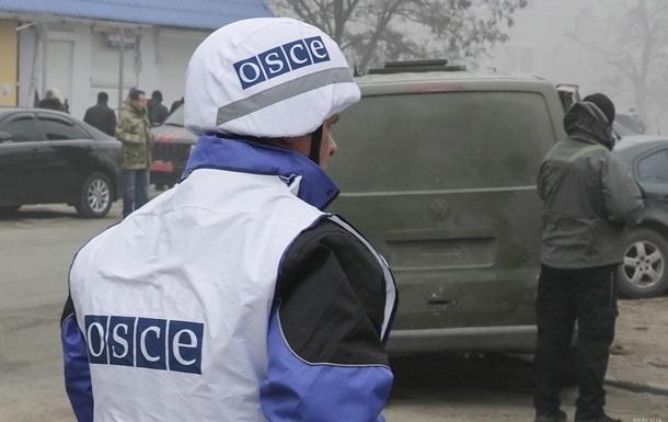 Сепаратисты на границе с Россией загружали ящики для боеприпасов – ОБСЕ