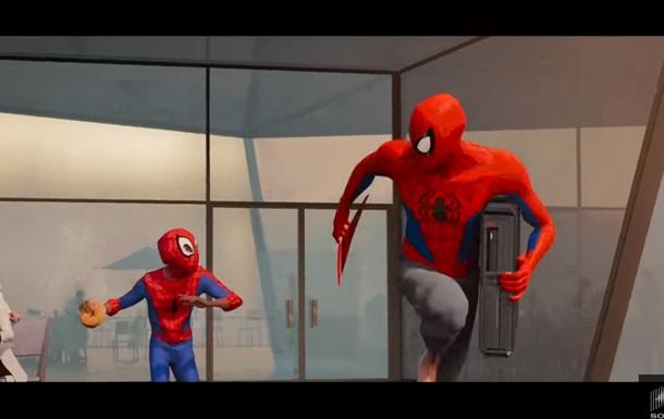 Вышел фрагмент анимационного фильма Человек-паук