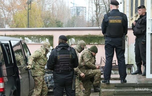 Українських моряків вивозять із СІЗО Сімферополя - Чийгоз