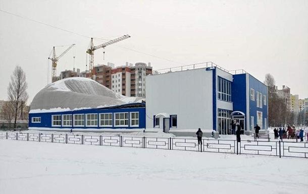 В Киевской области обрушилась крыша школы