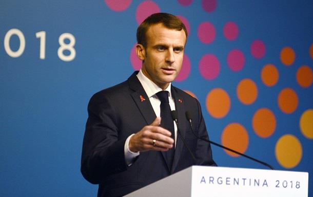 Макрон заявил, что накажет организаторов беспорядков в Париже